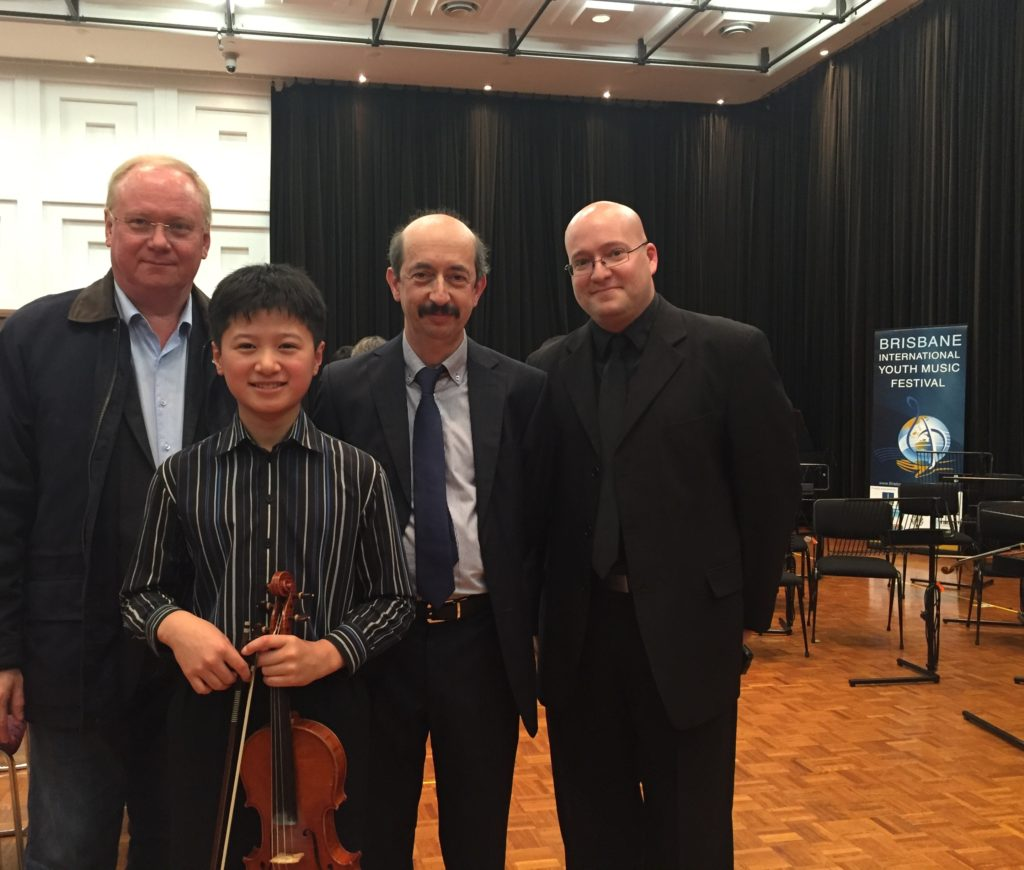 With Emin and the Adjudicators